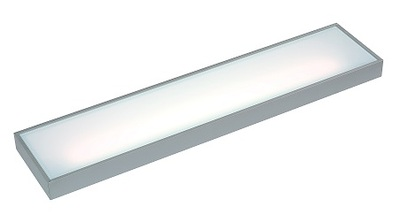 450mm Cool White LED Illuminated Glass Shelf Light