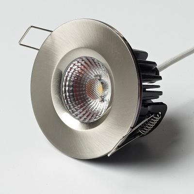 10W Elan Fixed in Brushed Nickel - Neutral White LED
