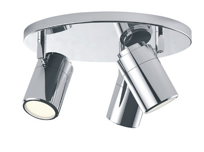 IP44 Bathroom Round Ceiling Plate Light