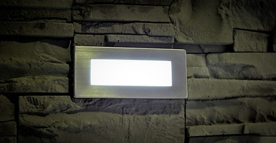 IP65 Recessed Slimline LED Mini Bricklight with Neutral White LEDs