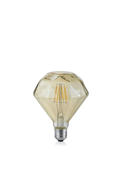 Vintage LED Diamond Shape Filament Lamp