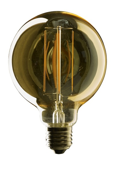 Vintage LED Globe G95 Dimmable Filament Lamp