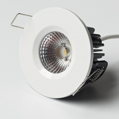 8W Elan Fixed in White Finish - Neutral White LED