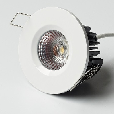 8W Elan Fixed in White Finish - Warm White LED