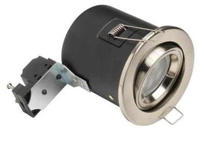 Pack white Tilt Fire Rated Downlights Incls Low Energy 11W GU10 Bulbs