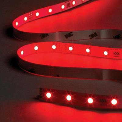 1 Metre Red LED Tape Kit, Includes Driver and Input Cable