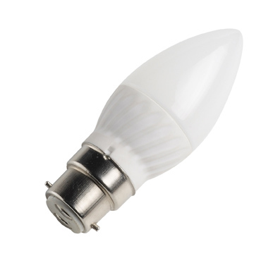 LED Candle lamp only 3 watt BC Cap