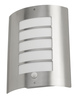 Avon-PIR Exterior IP44 Wall Light Stainless Steel Finish