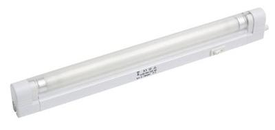 8W T5 Slimline Under Cabinet Fluorescent Fitting, 343mm