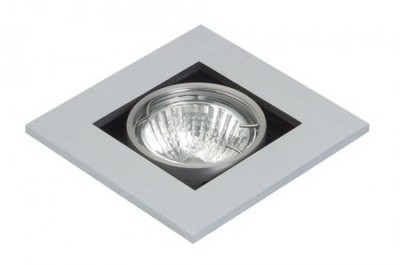 Mains Voltage Square Adjustable Downlight