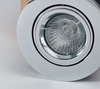 10 Pack Tilt Fire Rated Downlights with a Chrome Finish