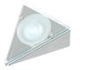 3 Pack Triangular Downlight with Glass Fascia, Inc 20W G4 bulbs