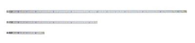 600mm High Output White LED Linkable Striplight 4W