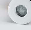 5 Pack IP65 Shower & Fire Rated Downlights with a White Finish