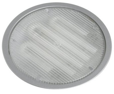 Recessed Plastic Downlight Casing for GX53 Lightbulb