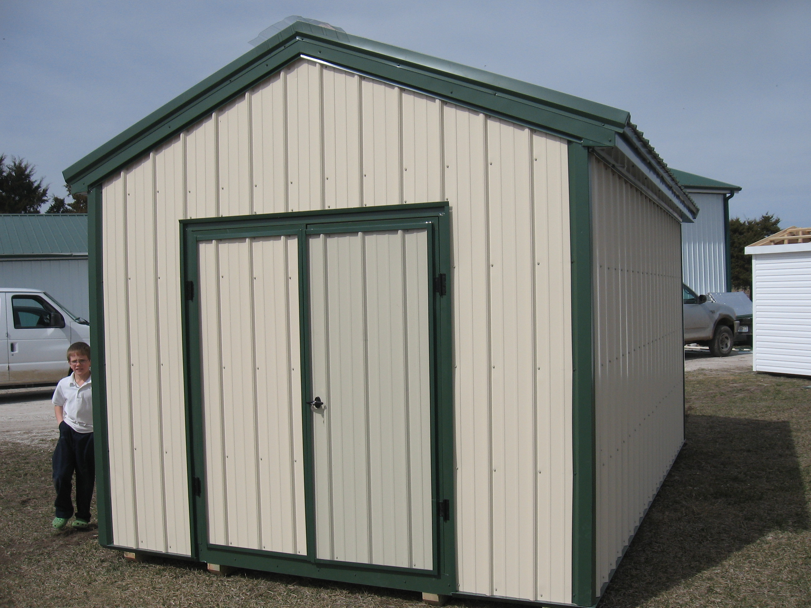 storage sheds to backyard lean shed utility amish structures pin