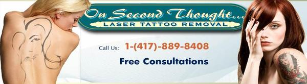On second thought laser tattoo removal in springfield mo for Tattoo parlors in springfield mo