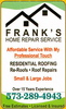 Frankshomerepairservice