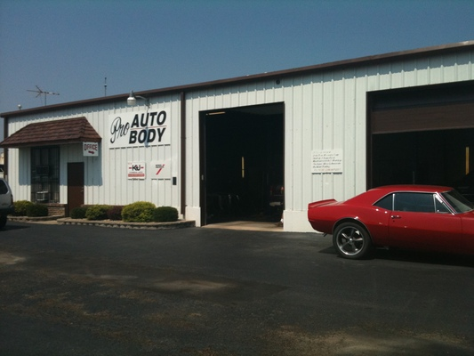 Pro Auto Body In Jefferson City Mo Service Noodle