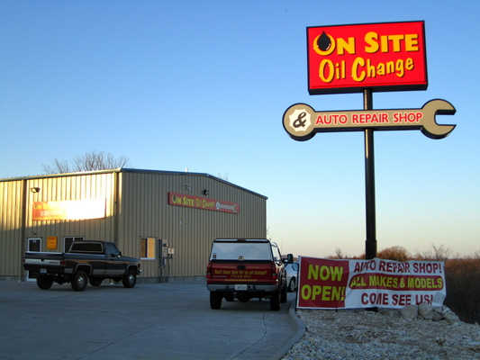 On Site Oil Change In Jefferson City Mo Service Noodle
