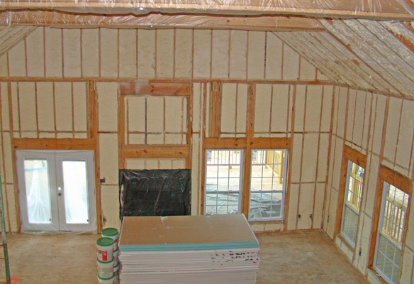 Superior spray foam insulation in california mo service for Insulate your home for free