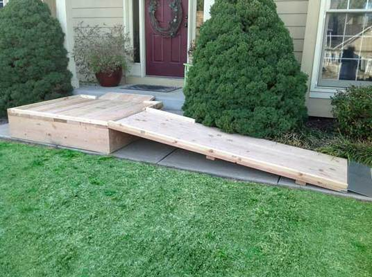 wheelchair ramp kits in overland park ks service noodle