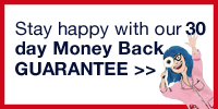 image of our 30 day money back guarantee