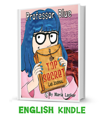 prof blue for kindle