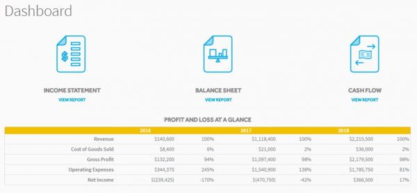Profit and Loss at a Glance