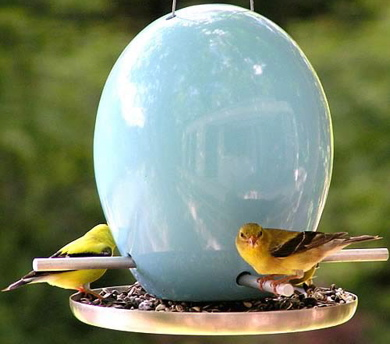 Egg-bird-feeder