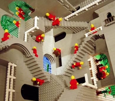 Escher-lego