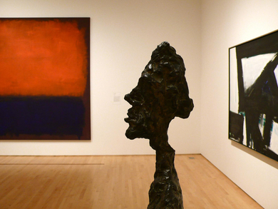 Giacometti-and-rothko-at-sfmoma
