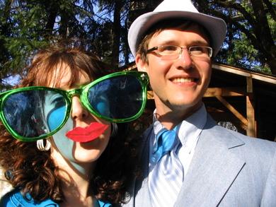 Kate-and-patrick-at-nicks-wedding