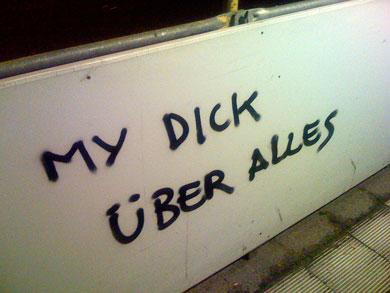 My_dick_uber_alles
