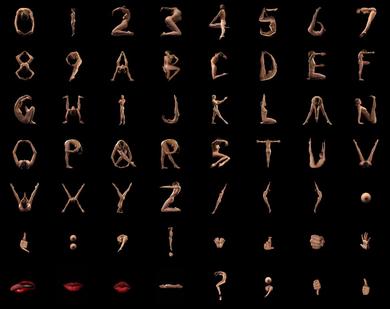 Naked-alphabet