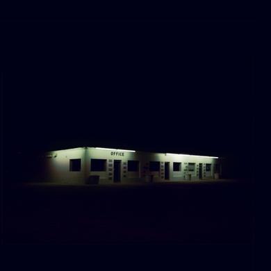 Office-at-night