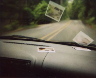 Polaroids-on-the-dashboard
