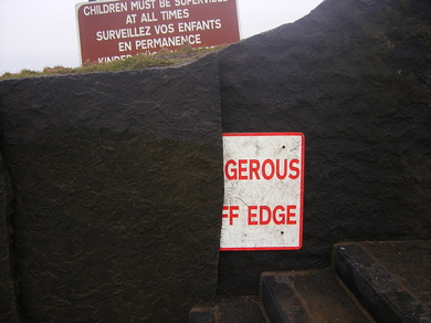 Sign-of-danger