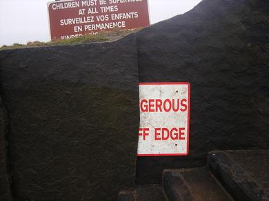 Sign-of-danger