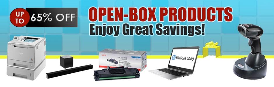 Open Box Banner
