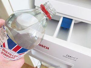 mildew smelling washing machine