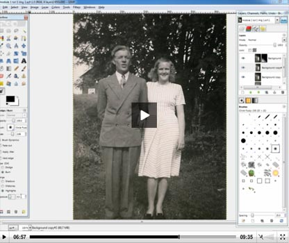 Photo Restoration