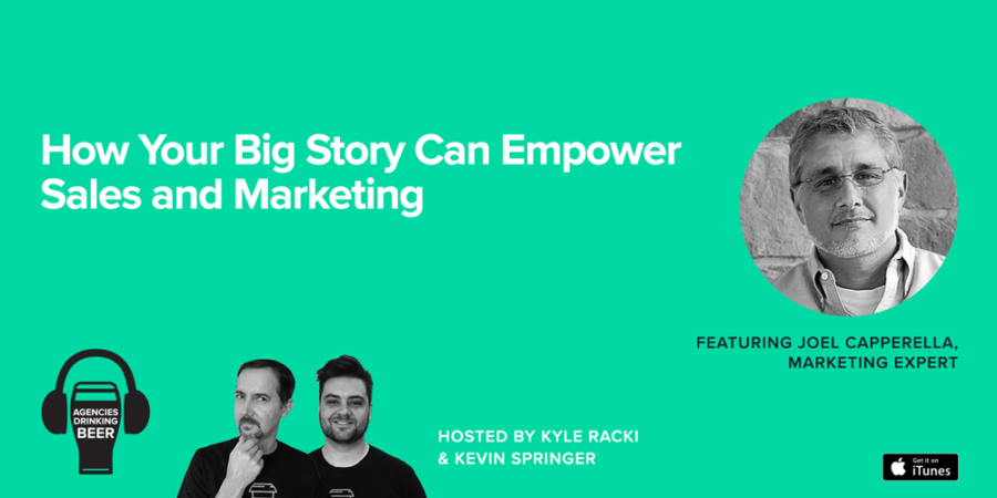 How Your Big Story Can Empower Sales and Marketing