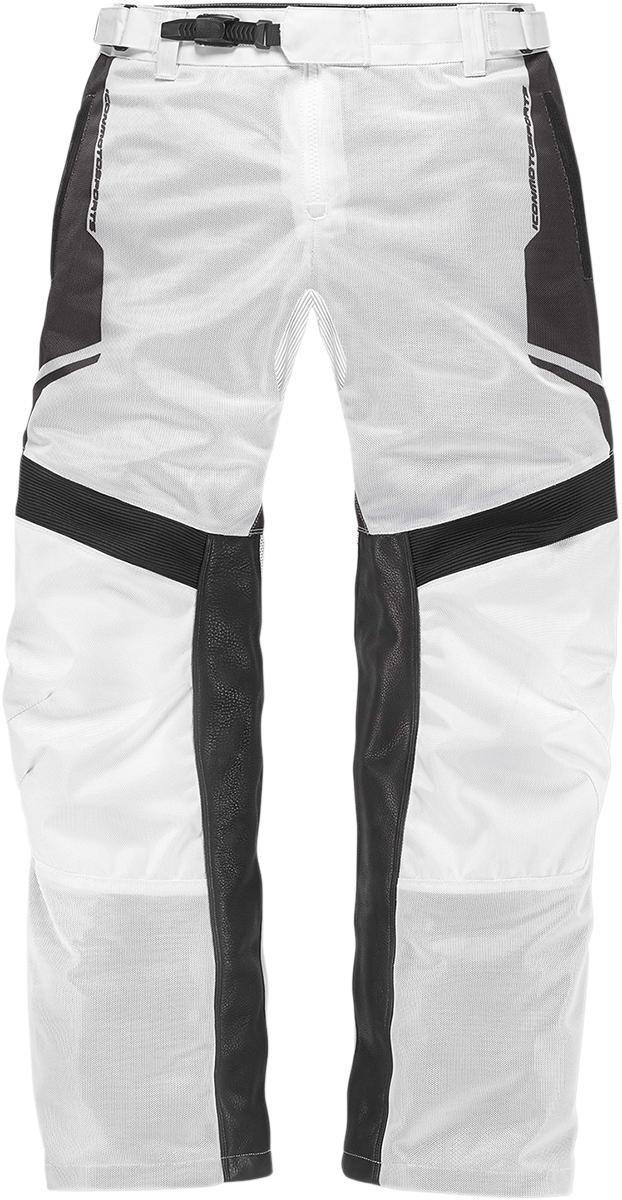 NEW ICON Anthem 2 Mesh Pants WHITE STREET STUNT CRUISER