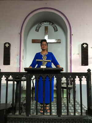 Rebecca Gilmer Praying
