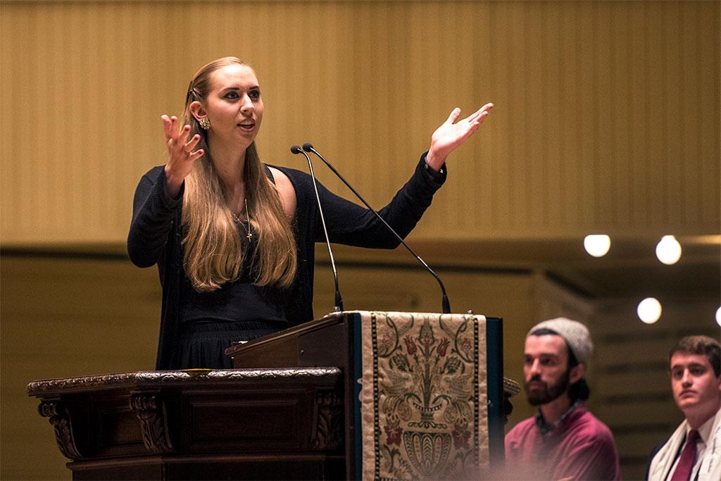 Zoe Garry Preaching