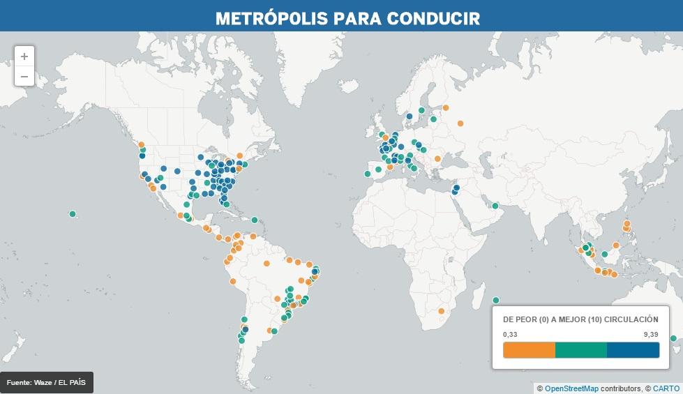 Panamá es una de las peores ciudades para conducir según Waze