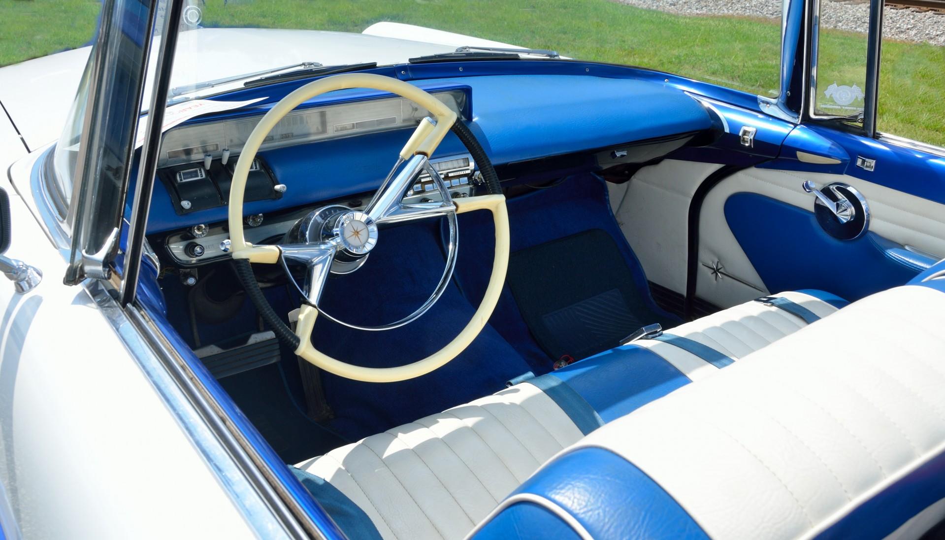 auto clasico interior asiento