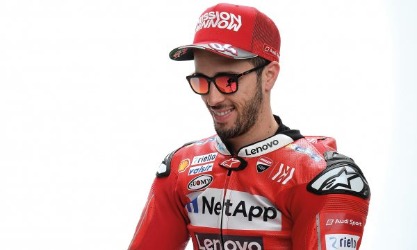 ANDREA DOVIZIOSO RETURNS AS BRAND AMBASSADOR FOR 2019