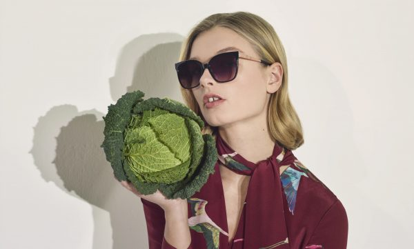Ted Baker Model Photographed with SKYE TB1540 Sunglasses